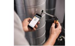 Testo 405i Termoanemometras su mobilia aplikacija