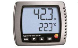 Testo 608-H1 drėgmės ir temperatūros matuoklis