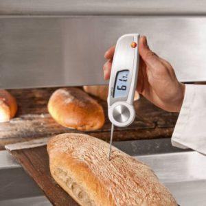 Testo 104 maisto termometras EN 13485