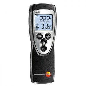 Testo 922 temperatūros