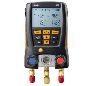 Testo 550 šildymo ir šaldymo sistemų matavimui