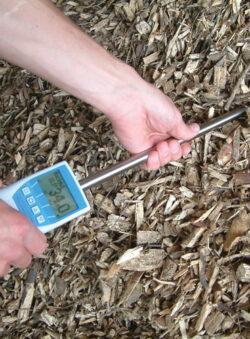 BLL medienos drožlių drėgmės matuoklis