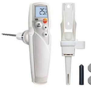 Testo 105 termometras šaldytų produktų matavimui