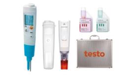 Testo 206 pH2 pusiau kietų terpių pH matuoklio rinkinys