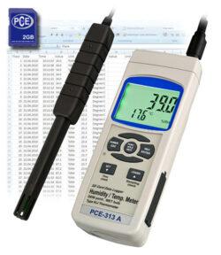 Oro drėgmės matavimo prietaisas PCE 313A