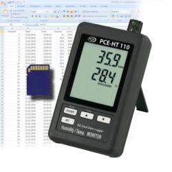 Oro kokybės temperatūros drėgmės matuoklis PCE HT110