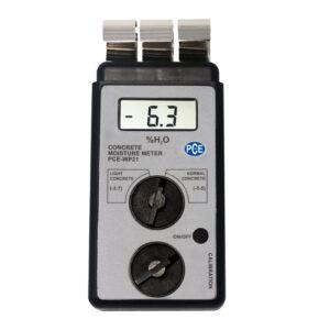 Betono drėgmės matavimo prietaisas PCE WP21