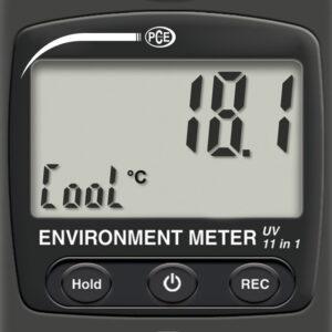 Oro greičio matavimo prietaisas PCE EM 890