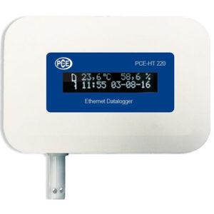 Temperatūros duomenų kaupiklis PCE HT 420