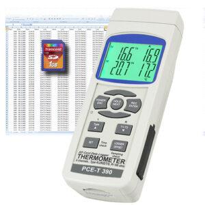 Temperatūros duomenų kaupiklis PCE T390