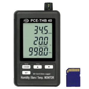 Temperatūros duomenų kaupiklis PCE THB 40