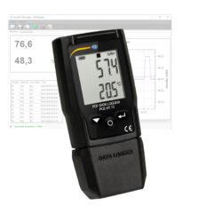 Temperatūros ir drėgmės duomenų kaupiklis PCE HT 72