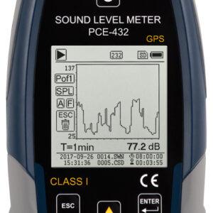 Garso lygio matavimo prietaisas PCE 432