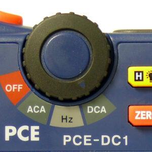 Skaitmeninis multimetras PCE DC1