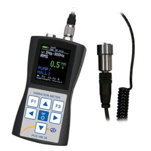 Vibracijos matuoklis PCE VM 25