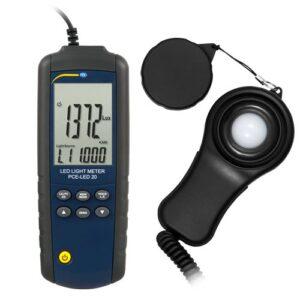Šviesos matavimo prietaisas PCE LED 20