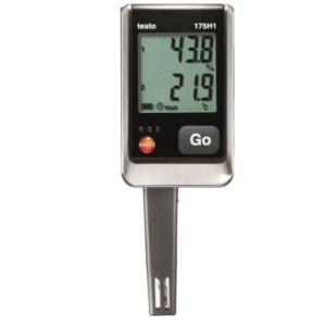 Testo 175H1 temperatūros ir drėgmės duomenų kaupiklis