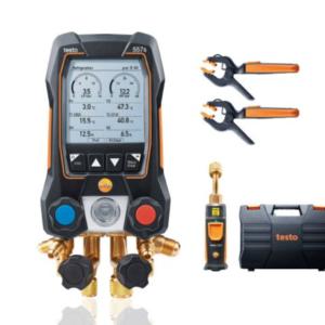 Testo 557s Smart Vacuum Kit skaitmeninis kolektorius
