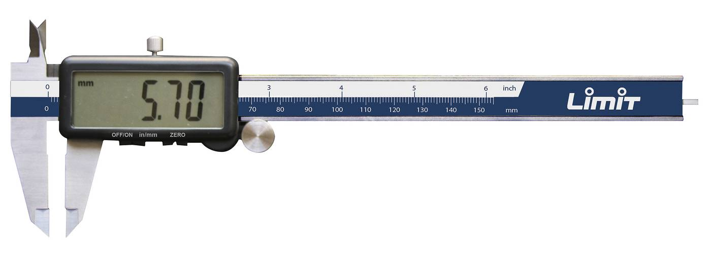 Skaitmeninis slankmatis LIMIT 150 mm