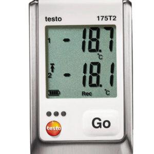 Testo 175 T2 temperatūros duomenų kaupiklis