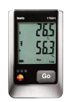 Testo 176 H1 temperatūros ir drėgmės duomenų kaupiklis