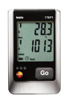 Testo 176 P1 absoliutaus slėgio temperatūros ir drėgmės duomenų kaupiklis
