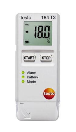Testo 184 T3 temperatūros duomenų kaupiklis.