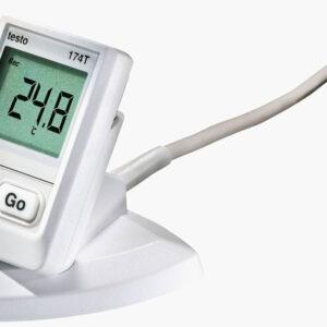 testo 174 T - Mini temperatūros duomenų kaupiklis.