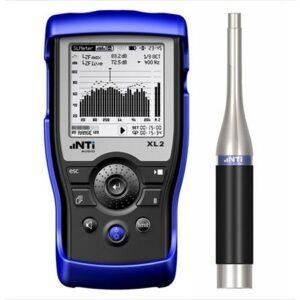 NTI Audio XL2 garso analizatorius - triukšmomatis