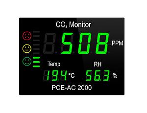 CO2 analizatorius PCE AC 2000